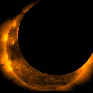 REAL Images of Eclipses Seen From Space