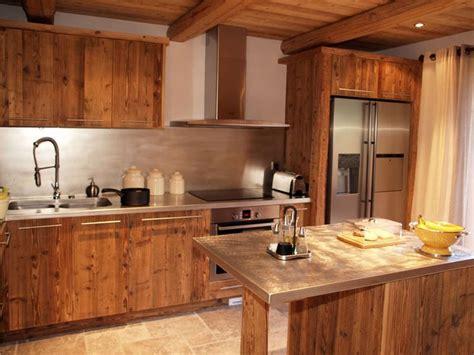 cuisine cholet design cuisine chalet vieux bois chalet