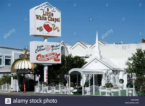 Las Vegas Wedding Elvis Chapel Stock Photos & Las Vegas