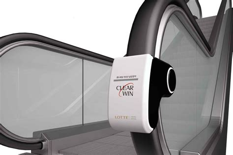 Handrail sterilizer claims to wipe out germs on escalators