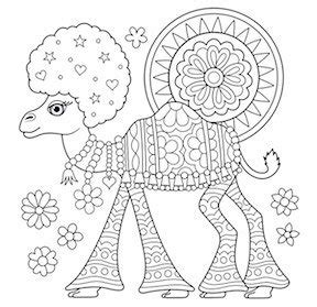coloring pages  adults  cool printable design