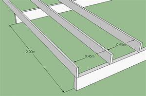 how to build a deck softwoods With standard spacing for floor joists