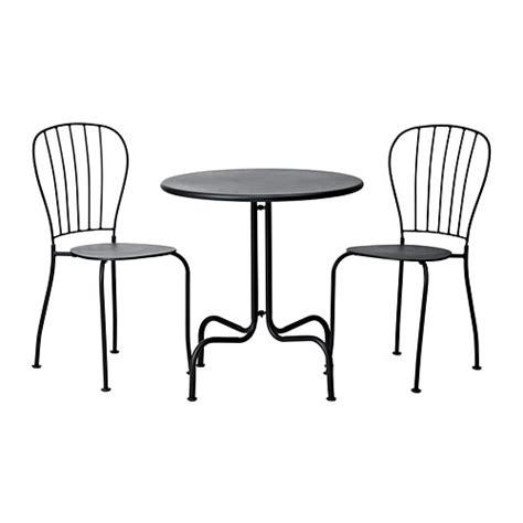 Le Exterieur Ikea by L 196 Ck 214 Table 2 Chaises Ext 233 Rieur Gris Ikea