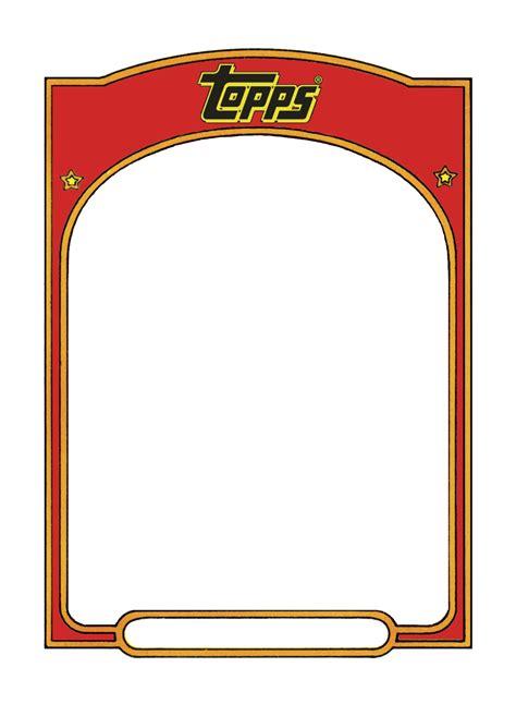 sports trading card templet craft ideas pinterest
