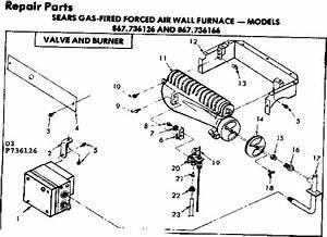 Kenmore Sears Gas
