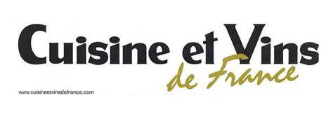 vin et cuisine article de presse cuisine et vins de