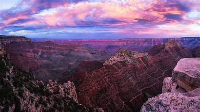 Canyon Grand Sunset Pano 4k Widescreen
