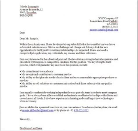 exemple de lettre de motivation en anglais cover letter exemples de cv
