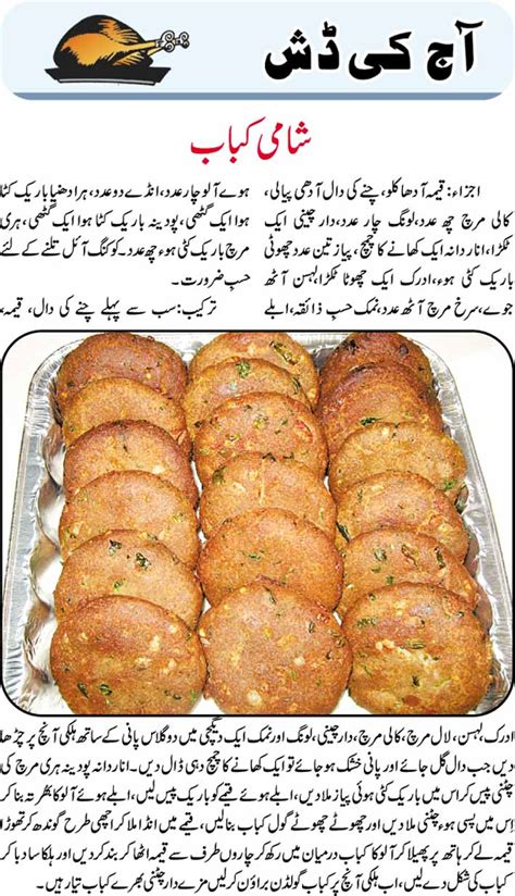 daily cooking recipes  urdu shami kabab recipe