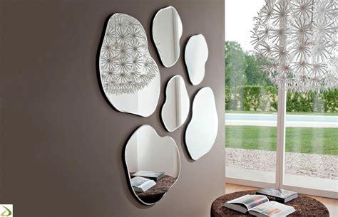 specchi arredo ingresso specchio sagomato di design da ingresso pongo arredo