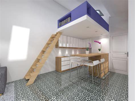 chambre atelier best chambre avec mezzanine photos design trends 2017