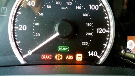 why is my vsc light on my lexus toyota camry yellow exclamation point what does the