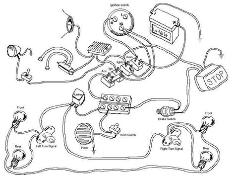 Chopper Wiring Diagram by How Is It To Wire In Indicators To An Offroad Bike