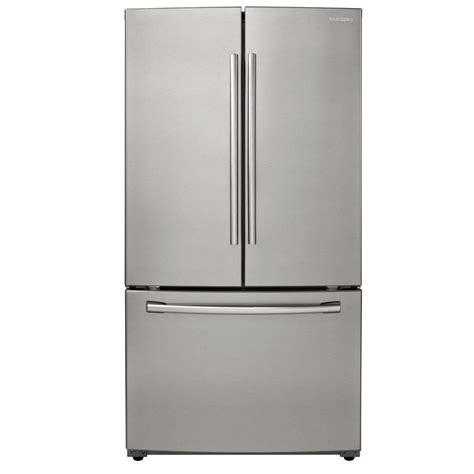 Samsung 255 Cu Ft French Door Refrigerator In Stainless