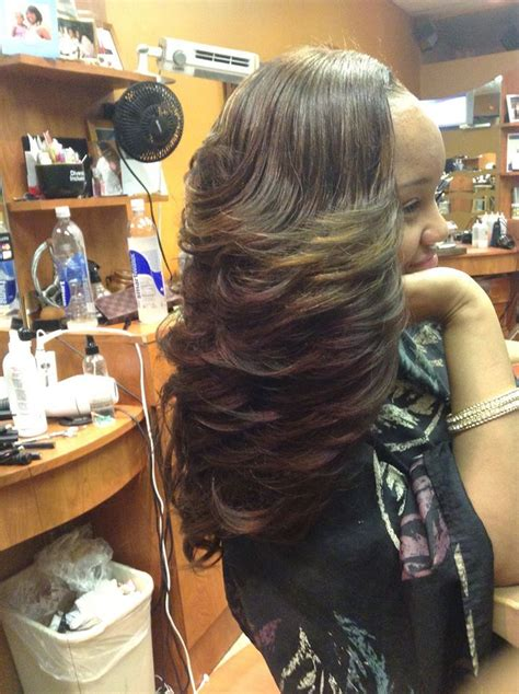 Layered Sew In Weave Hairstyles by Sew In Layers Hair A Natic Hair Styles