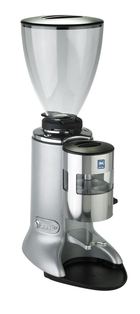It comes with a pre infusion function. Ceado E7 Automatic Espresso Grinder - Whole Latte Love