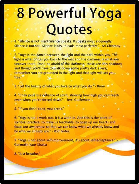 yoga quotes quotesgram