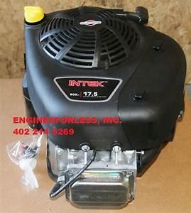 17 5 Hp Briggs Intek I  C Engine Vertical 1 U0026quot  Dia Shaft