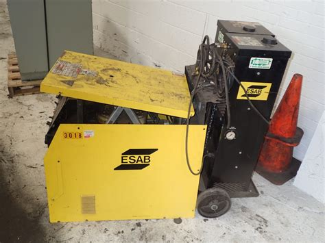 esab heliarc 252 ac dc weld 287884 for sale used
