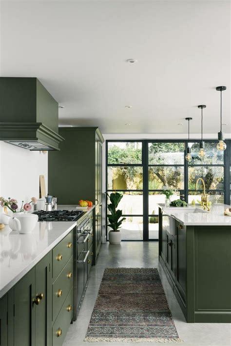 green kitchens   positively  trend hunker