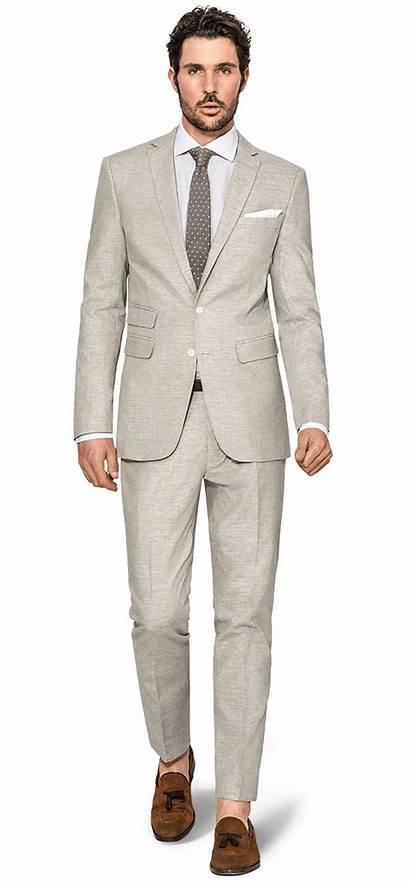 Linen Suits Hockerty Suit Beige Wear Fabrics