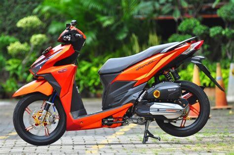 Modif Sepedq Motor Vario Keren by 50 Gambar Modifikasi Honda Vario 150 Esp Keren Elegan