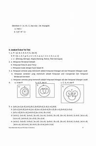 Contoh Diagram Venn Himpunan Gabungan