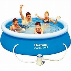 Piscine Gonflable Avec Pompe : piscine autoportante 244 avec pompe de filtrage achat ~ Dailycaller-alerts.com Idées de Décoration