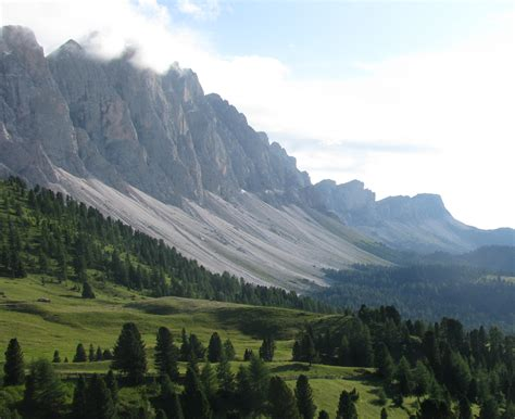 mountain range between and italy the most surreal landscapes on the planet