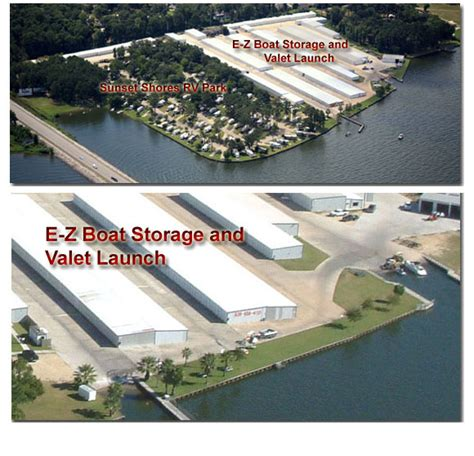 Lake Conroe Boat Launch by Lake Conroe Boat Storage Dandk Organizer