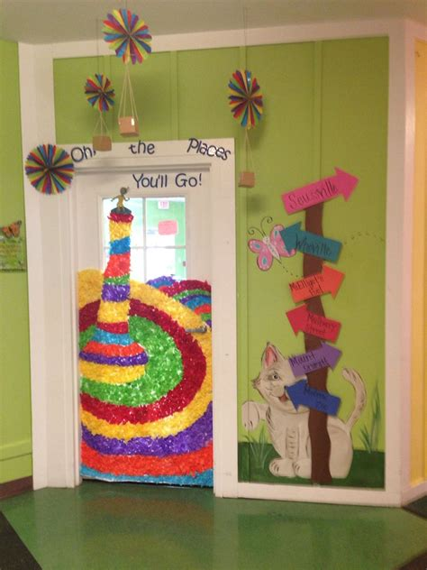 Oh The Places You Ll Go Decorations - oh the places you ll go door decorations classroom