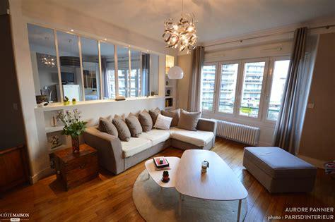 faire une chambre dans un salon création d 39 une verrière chambre salon aurore pannier