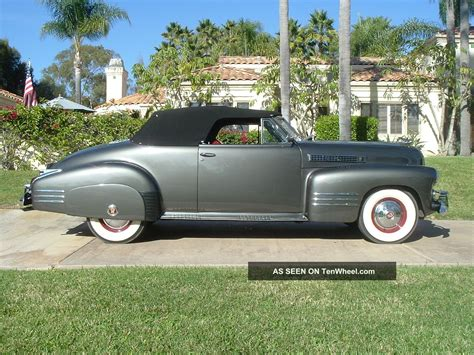 1941 Cadillac Model 62 Convertable Pictures To Pin On