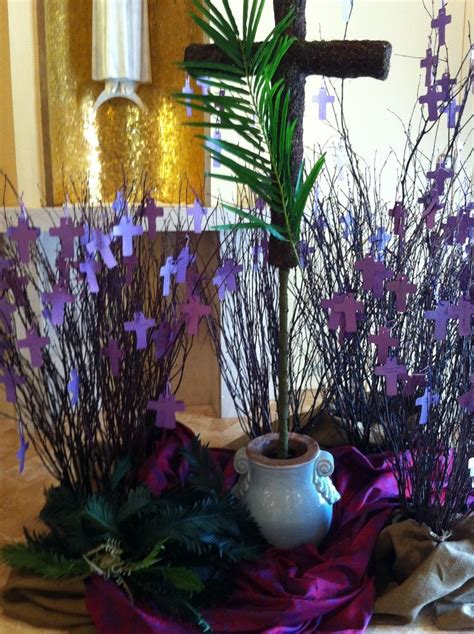 Decoration Ideas by Lent Decoration Ideas For Church Palm Sunday 2013