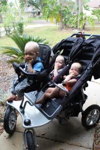 Triple Stroller with Joey Seat