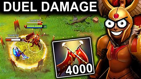 epic 4000 damage legion commander patch 7 12 dota 2 new meta gameplay 70 youtube