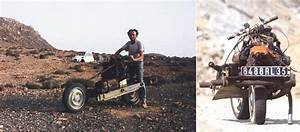 Emile Leray Used Broken Car Parts To Build A Motorcycle