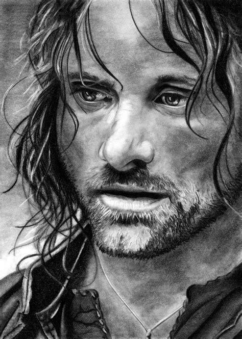 Aragorn Lotr Viggo Mortensen By A Nanaz On Deviantart