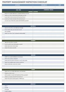 wonderful facility maintenance checklist template pictures With property management documents templates