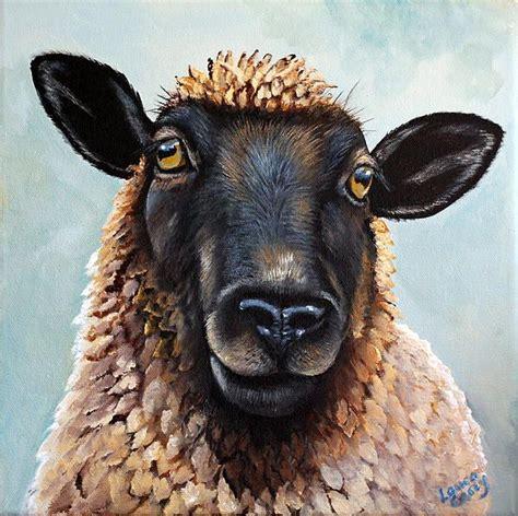 memphis  laura carey sheep paintings sheep art