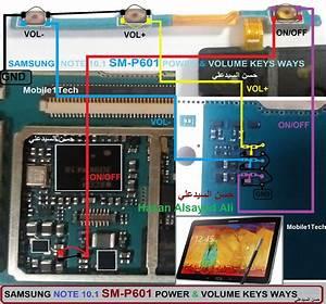 Samsung Galaxy Note 10 1 P600 Power Button Solution