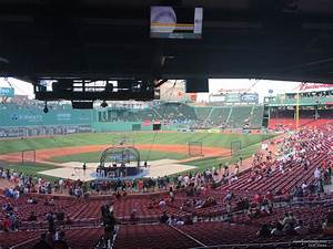At T Park Seating Chart With Rows And Seat Numbers Fenway Park Grandstand 20 Rateyourseats Com