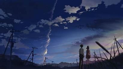 Anime Makoto Shinkai Power Second Per Pole