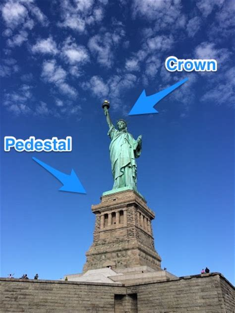 statue of liberty pedestal how to visit the statue of liberty in new york ultimate