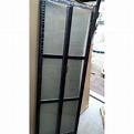 全新DIY 黑色鋁質雙摺門