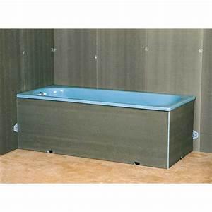 Baignoire Avec Tablier : tablier pour baignoire droite salle de bains ~ Premium-room.com Idées de Décoration