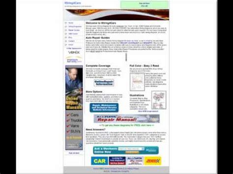 free automotive wiring diagrams youtube