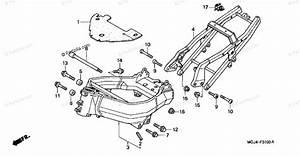 Honda Motorcycle 2000 Oem Parts Diagram For Frame 1