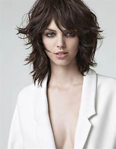Coupe Cheveux Carré : coiffure carre effile avec frange ~ Melissatoandfro.com Idées de Décoration