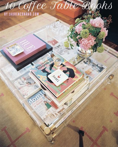 Tuesday Ten Best Coffee Table Books  Lauren Conrad